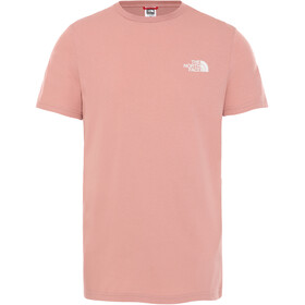 The North Face Simple Dome T-shirt Heren, pink clay